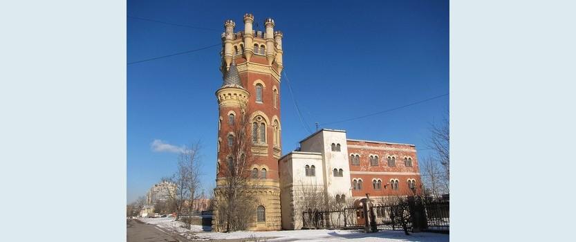 Водонапорная башня Обуховского завода