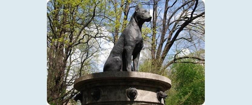 Памятник собаке Павлова