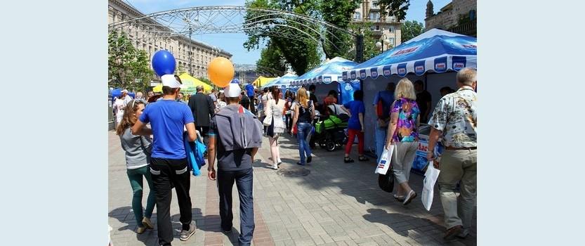 Фестиваль мороженого в Петербурге