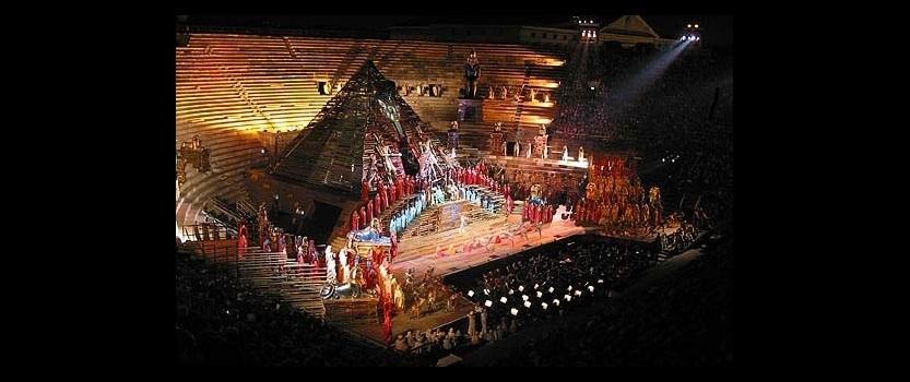 Оперный шедевр Аида на стадионе Петровский