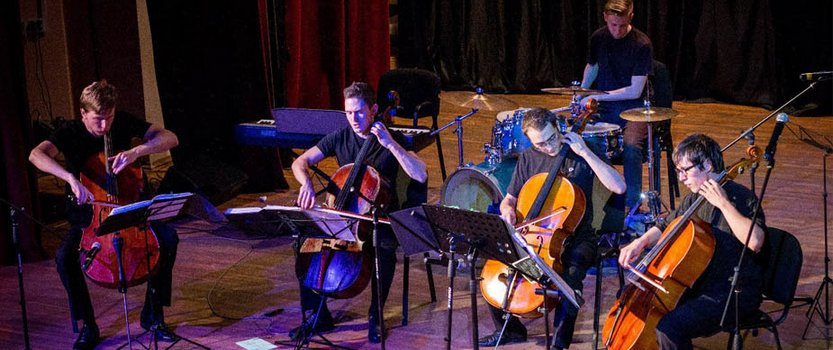 Rock hits from The Cello Quartet in Annenkirhe