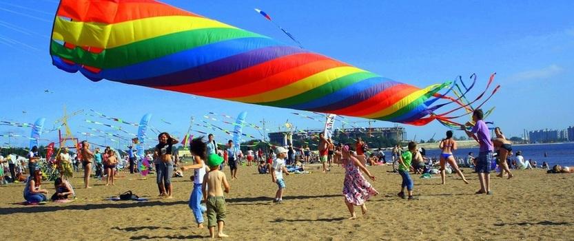 Festival of Kites fly easily