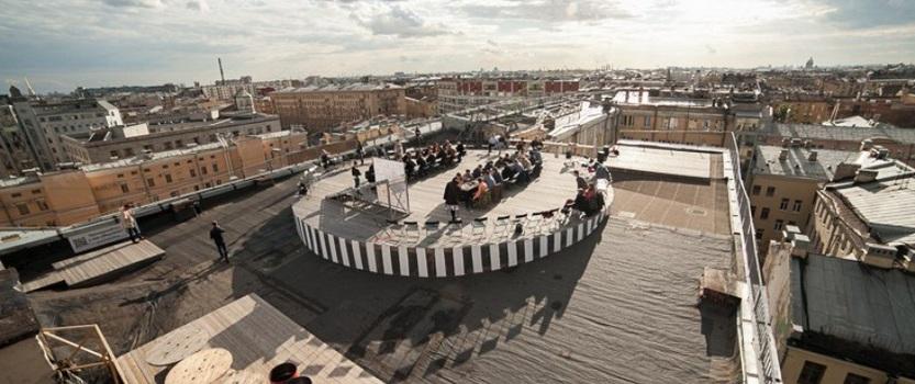 Обзорное пространство Крыша