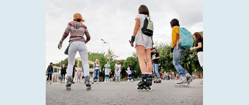 Где в Петербурге покататься на роликах?