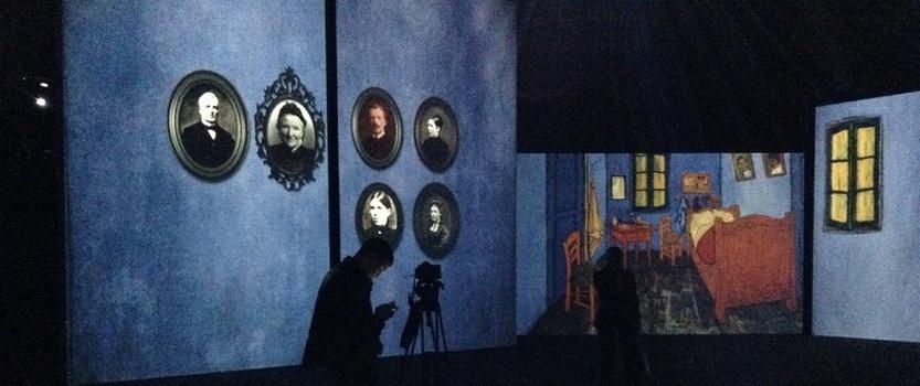 Ожившие полотна Ван Гога в Петербурге