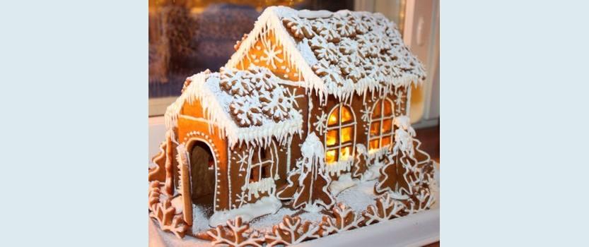 Выставка пряничных домиков