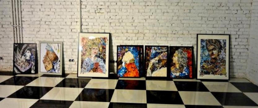 Выставка коллажей Женщины. Они изменили историю