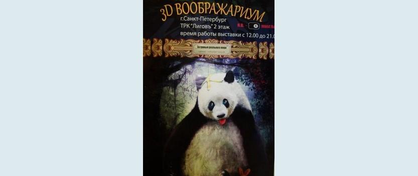 (RU) 3D Воображариум в Санкт-Петербурге