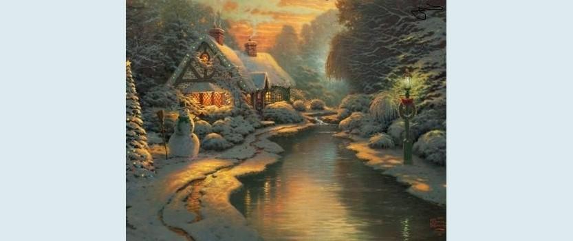 Зимний пейзаж в Санкт-Петербурге
