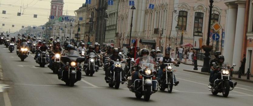 В Петербурге пройдет парад байкеров