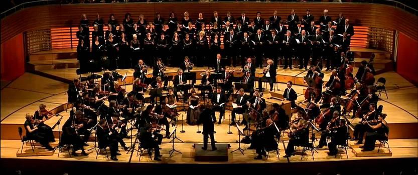 (RU) Реквием Моцарта в Большом зале петербургской консерватории