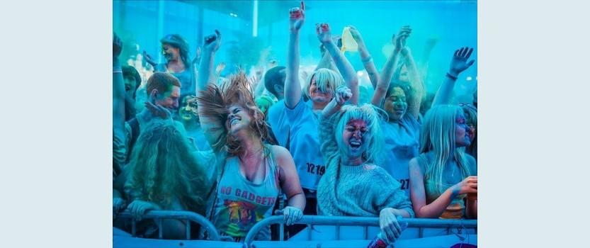 Фестиваль красок The color party в Сестрорецке