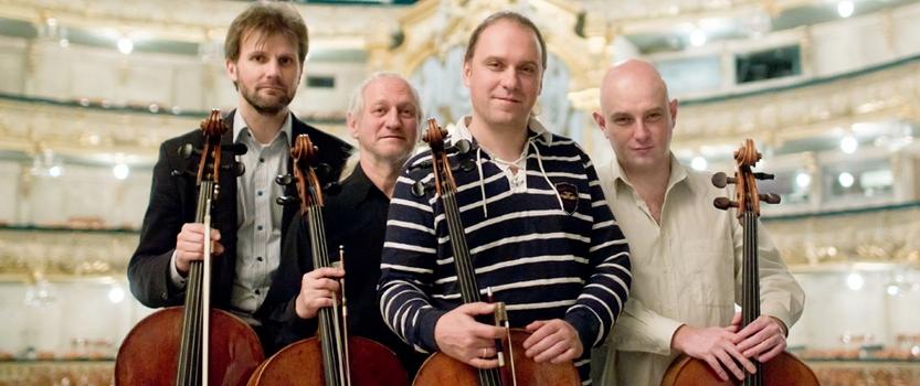 Rastrelli Cello Quartett в концертном зале Мариинского театра