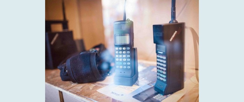 The exhibition of mobile technologies 100telefonov #