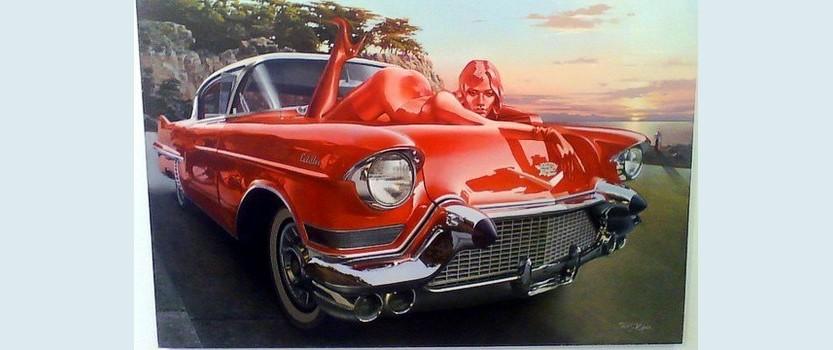 Выставка Автомобиль в искусстве