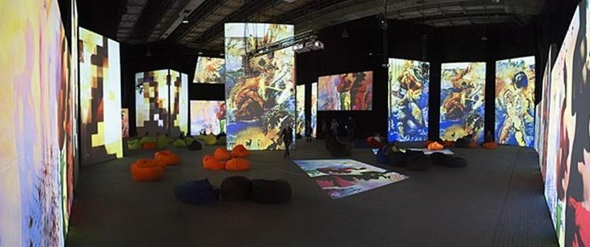 Мультимедийная выставка Дали — Живые полотна