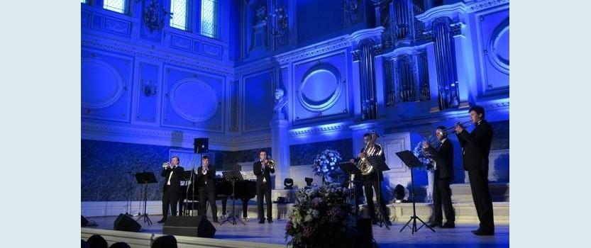 Концерт ансамбля духовых Olympic Brass в Филармонии