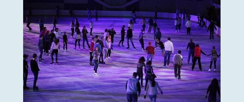 Покататься на коньках в Петербурге