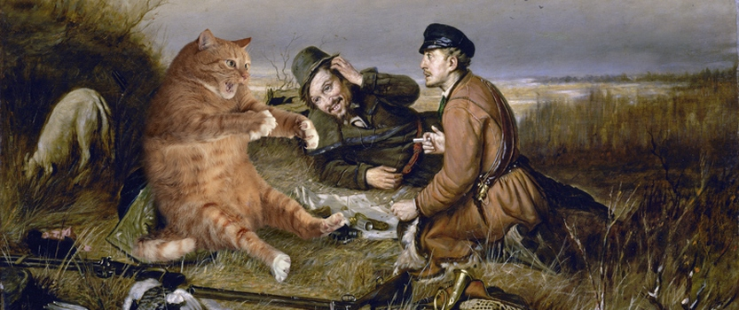 Выставка: Просто добавь кота