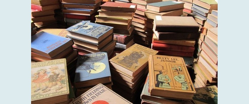 Книжный garage sale в ЦАрхитекторе