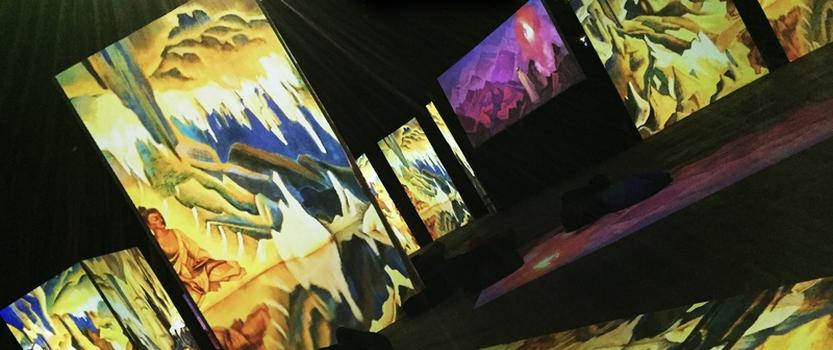 Люмьер-Холл Ожившие полотна : Айвазовский и Рерих