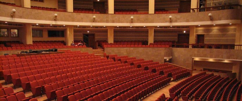 Кантата Кармина Бурана на сцене Мюзик-Холла