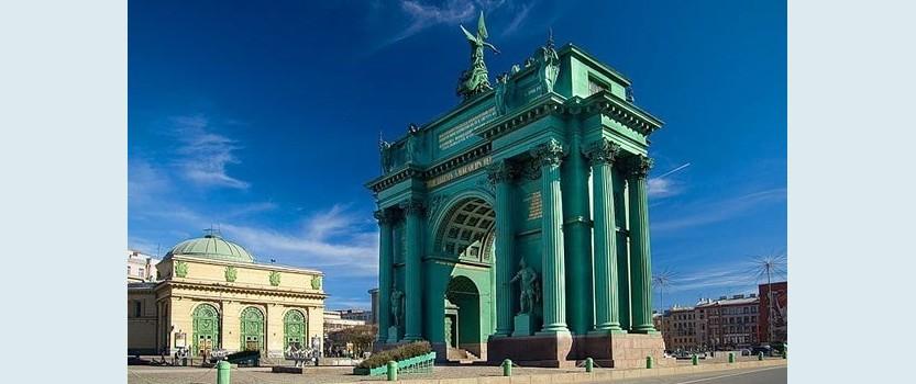 (RU) Нарвские Триумфальные ворота