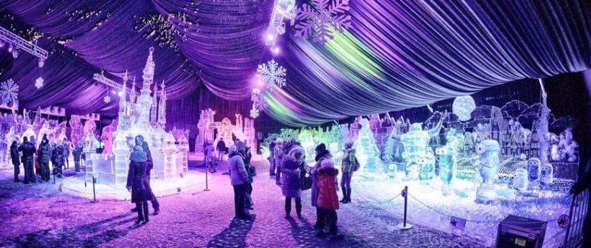 Фестиваль ледовых скульптур 2016