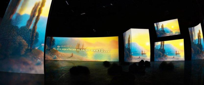 Выставка картин Айвазовского в новом формате