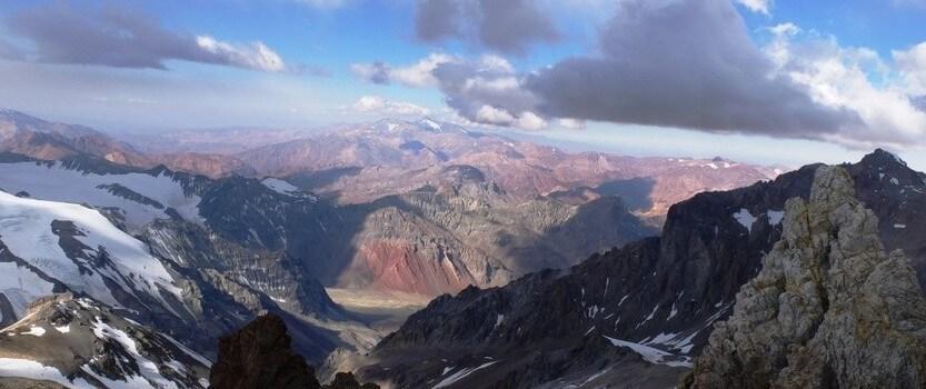 A photo exhibition titled Climbing Aconcagua