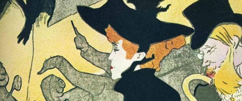 (RU) Выставка литографических работ Анри де Тулуз-Лотрека