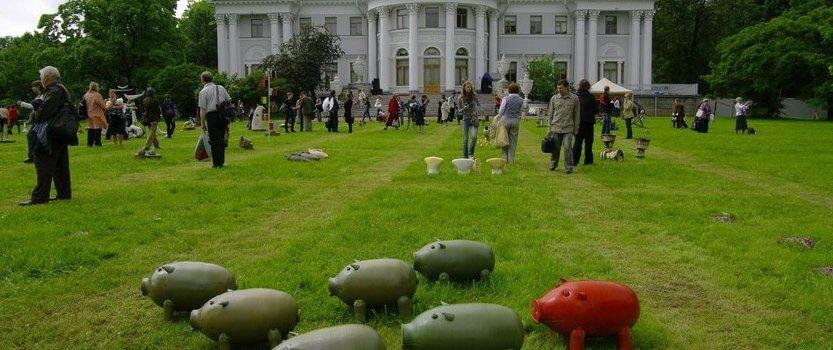 XIV Международная выставка стекла и керамики в пейзаже