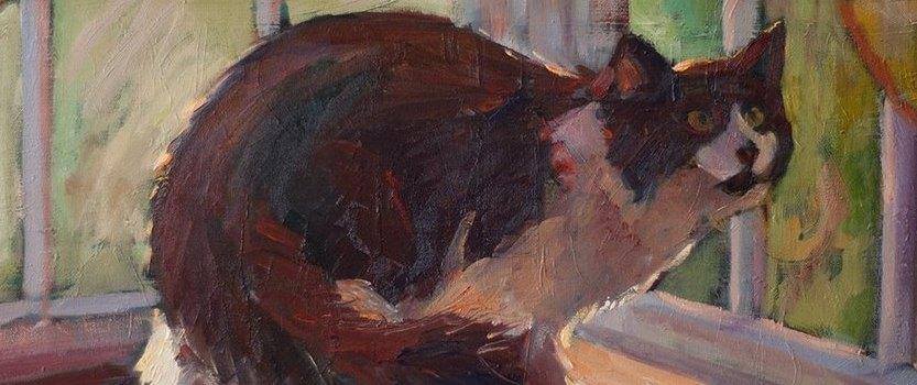 Выставка-фестиваль : Портрет кошки