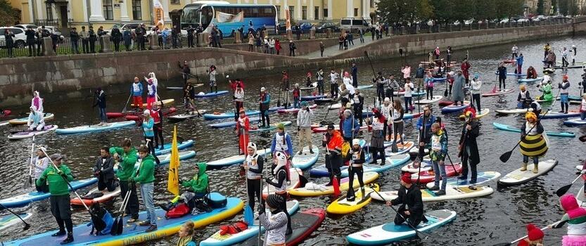 Фестиваль сапсерфинга «Фонтанка SUP-2017»