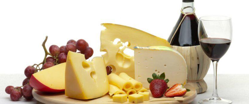 Дегустация сыров из Швейцарии, Грузии, Франции и Италии