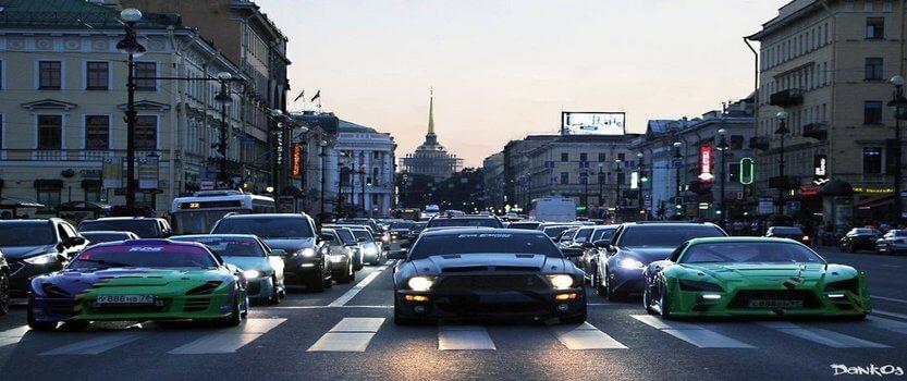 Пробег самых стильных автомобилей