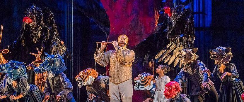 Видеопоказ оперы -Волшебная флейта-