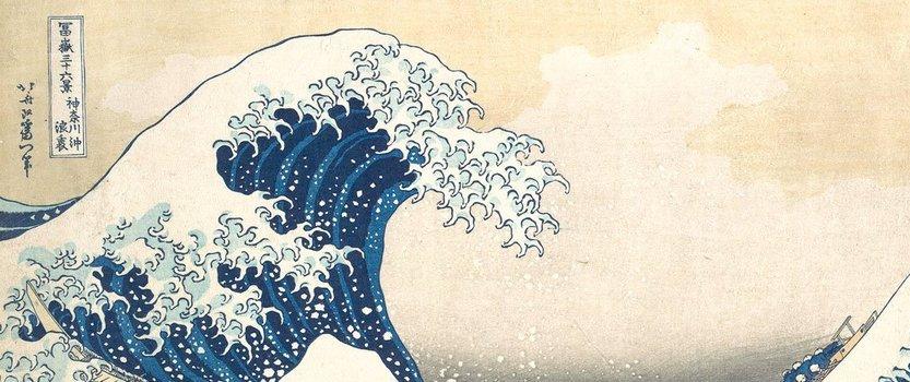Выставка Hokusai Британского музея