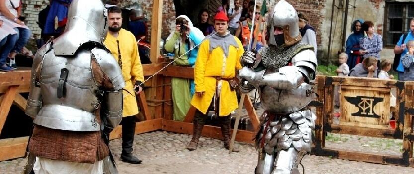 Зимний рыцарский турнир