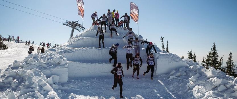 Командный забег с препятствиями «Гонка героев. Зима»