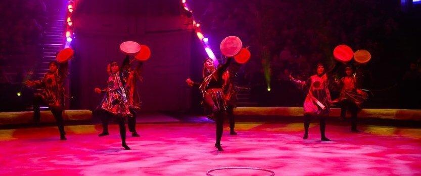 Цирковое представление Легенды Байкала