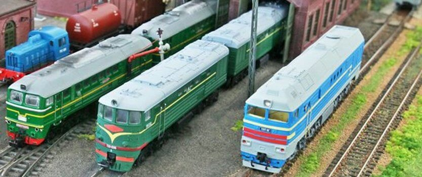 Железнодорожная модель — 2018