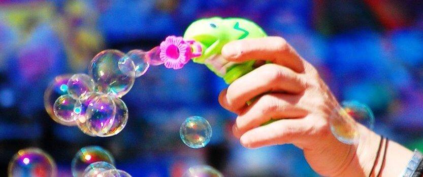 Фестиваль мыльных пузырей