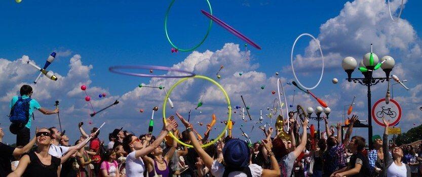 Фестиваль жонглеров