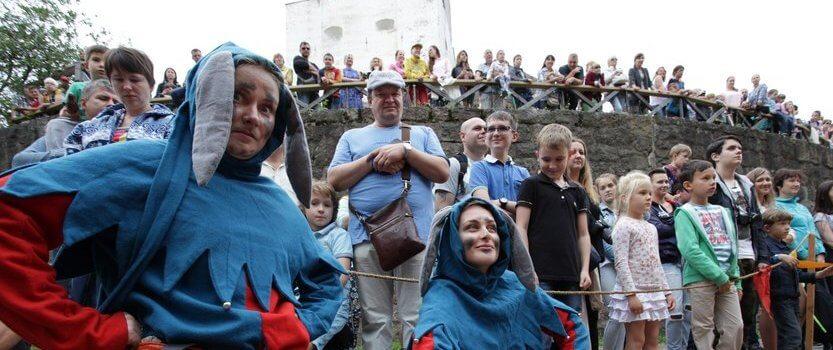 Фестиваль исторической реконструкции «Рыцарский замок»