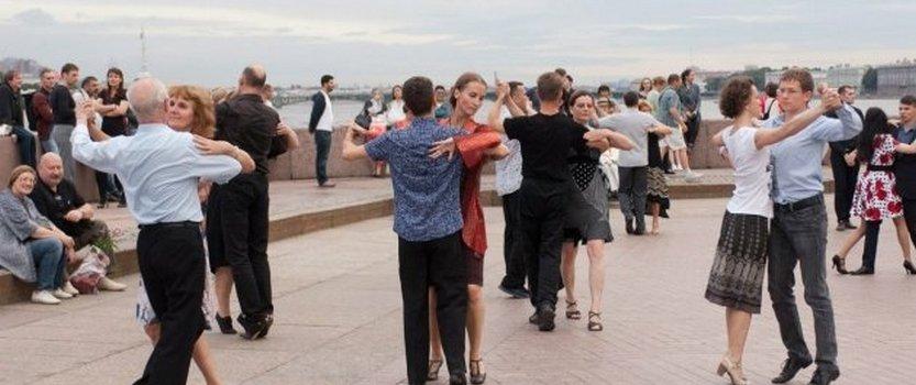 Международный танго-флешмоб