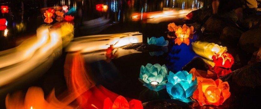 (RU) Фестиваль водных фонариков