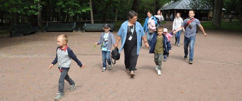 Прогулки по Павловскому парку для детей