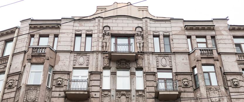 (RU) Доходный дом Г. Г. Гесселя, Невский 95