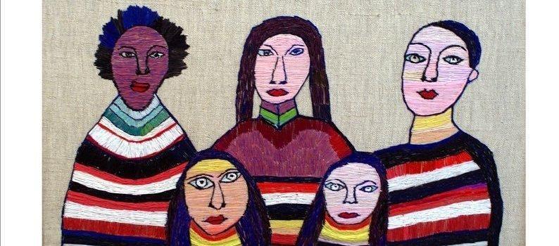 Выставка Юлии Алешичевой «Девушка из 1938»